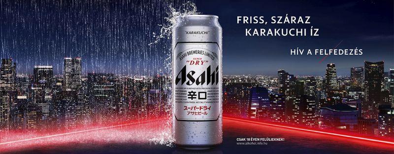 Asahi - Hív a felfedezés