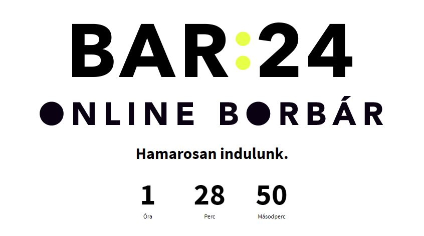BAR:24 hamarosan