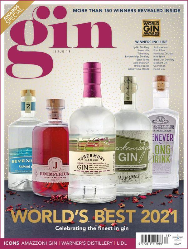 Gin Magazine - World's Best 2021